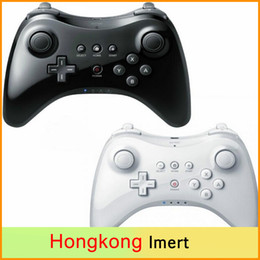 Classic Dual Analog Bluetooth Wireless Remote Controller USB U Pro Game Gaming Gamepad for for Nintendo Wii White Black Wholsale