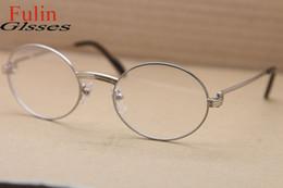 Men s round eyeglass frames en Línea-El marco redondo de gama alta al por mayor del Vidrio-venta al por mayor 1168111 vidrios de la miopía de las lentes enmarca el tamaño eyewear de la vendimia: 55-21-135m m envío libre