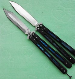 Wholesale Benchmade bailisong American butterfly flail Free swinging Knife HRC camping knife copies dropshipping freeshipping