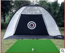 Wholesale Indoor Golf Training Net Outdoor Golf Practice Cages Golf Aiming Practice Net Golf Swing Practice Cages M