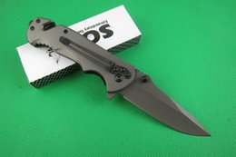 Top quality SOG FA05 Fast open flipper folding blade knife Outdoor camping Tactical Knives EDC pocket Knifes with retail box