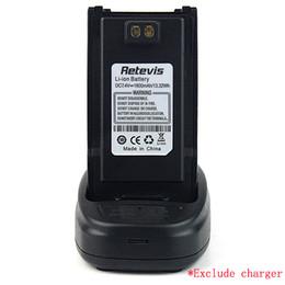 Wholesale 2pcs DC7 V mAh RETEVIS RT6 Radio Li ion Battery Pack J6451A