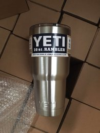 Wholesale Best Quality YETI oz Rambler Tumbler Bilayer Stainless Steel Insulation Cup OZ Cups Cars Beer Mug Large Capacity Mug Tumblerful