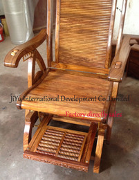 Wholesale 2016 wood chairs antique rocking chairs easy chairs happy time siting luxury African Red sandalwood summer casual chair