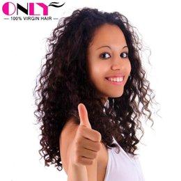 Wholesale Curly Kinky Hair Beautiful - Raw Indian Virgin Human Unprocessed Hair Kinky Curly Extensions Curly Wavy Weaves Curly Wavy Weaves Hair Virgin Beautiful Curl Hair Indian