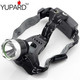 YUPARD CREE XML-L2 LED Aluminum alloy Headlamp Head Torch Lamp light Flashlight 3 Mode black super T6 yellow light camp fishing