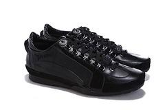 Wholesale 2016 New italy men leather brand shoes D2 classic style sneakers for men low price