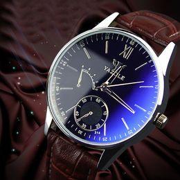Fashion Business Mens Watch Casual Analog Quartz Luxury Watch for Man Woman Leather Belt Sport Watch