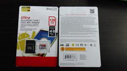 Wholesale DHL shipping GB GB GB GB GB SDXC UHS I micro sd card Class10 smartphoneStorage card Tablet PC memory card TF card MB S