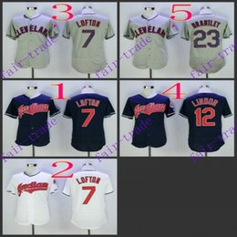 Wholesale cleveland indians michael bran francisco lindor Baseball Jersey Cheap Rugby Jerseys Authentic Stitched Size