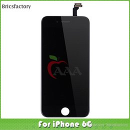 Wholesale For iPhone LCD Display touch screen Digitizer complete replacement parts free dhl shipping test one by one with after sale service