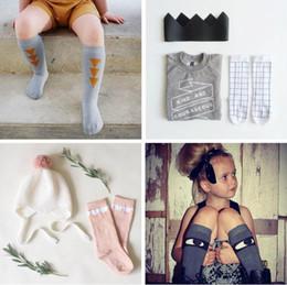Europe Fashion Spring Summer Kids Socks Baby Boys Girls Cotton Mid-calf Length Infant Socks Leg Warmers Boots Cuffs Socks 1346