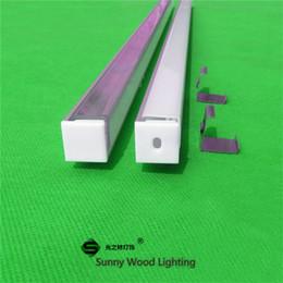 5m 10X0.5m 20inch 90degree Corner led aluminium profile for led tape and rigid strip ,led cabinet triangle bar light with 5050 5630 strip