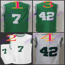 Wholesale jaylen brown al horford Cheap Rev Basketball Jerseys Embroidery Sportswear Jersey S XL free shippin