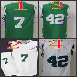 Wholesale jaylen brown al horford Cheap Rev Basketball Jerseys Embroidery Sportswear Jersey S XL free shippin