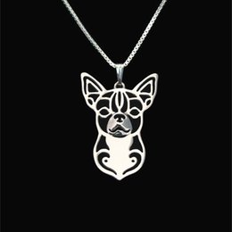 Chihuahua jewelry Silver Gold Necklaces & Pendants For Women Casual Jewelry Charms Dog Necklace