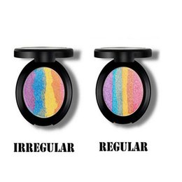 Wholesale Hot sale Prism Rainbow Highlighter Bitter Lace Beauty Blush Makeup six colours ebay hot sale for summer