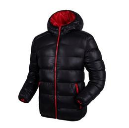 Winter man han edition men's sportswear, pure color joker down jacket to keep warm coat thin down leisure men