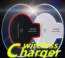 Qi Wireless Charger Phone charger Luxury Qi Wireless Charger Charging Pad Mini for Samsung S6 S6 Edge iPhone 6 6 PLUS 8 X DHL