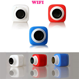 Wholesale Super Mini Compact Handheld Auto Selfie Pocket Camera Wifi Action Camera D Wide Angle P FPS App Remote Control MP Cam
