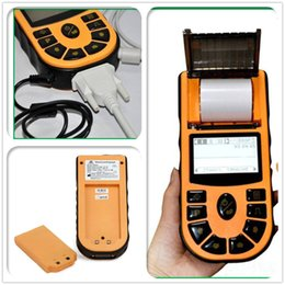 Wholesale ECG80A Portable Hand Held Single Channel ECG EKG Machine LCD Screen USB software with Printer and Paper ECG Machine