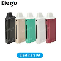 start kit ego Promotion Kit de démarrage rapide Eleaf iCare original Tiny Type - 1.8ml 650mah VS Joyetech eGo AIO Box