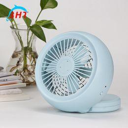 Wholesale Cooler Fan Ultra quiet Mini Air Conditioner Cooling Portable Fans Summer Home Desk Office Computer USB Electric Fan