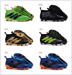 Wholesale 2016 latest PureChaos FG Messi blackout Mens football boots Top soccer shoes best soccer cleats