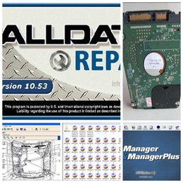 Wholesale 2016 v10 alldata and mitchell software alldata auto repair software program all data mitchell manager plus in1TB HDD