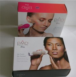 Wholesale PMD Pro Skin Care Tools Personal Microderm Pro Microdermabrasion Face Device Tools Grey Pink Colors vs facial cleansing brush invalid refund