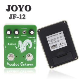 Wholesale Voodoo Octave Fuzz Effect Guitar Guitarra Parts Effect Pedal True Bypass for Musical Instrument Electronic New JOYO JF