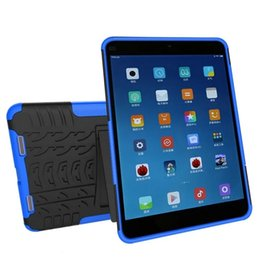 Wholesale hybrid kickstand case combo case for tablet pc XIAOMI Pad2 MiPad protective shell cover tpu pc cases