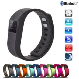 Promotion activité smartband tracker Fitness Activity Tracker Bluetooth 4.0 Smartband Sport Bracelet Band intelligent Wristband podomètre Pour IOS Iphone Samsung Android