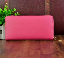 Wholesale fashion classic luxury brand genuine leather wallet for women best price