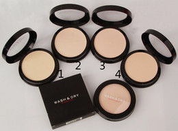 Wholesale DHL High quality NEW brand makeup face powder WASH DRY colors you can choose
