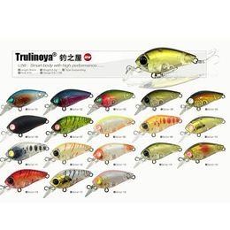Trulinoya DW24 3.5cm / 3.5g petite CRANKBAIT pêche seins set Kits, manivelle pêche dur appât, 10pcs / lot, Livraison gratuite à partir de pêche crankbait leurres petite fournisseurs