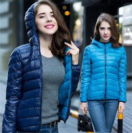 New 2016 Winter Two Side Women 90% White Duck Down Jacket Women's Hooded Ultra Light Down Jackets Warm Winter Coat Parkas