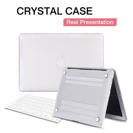 Wholesale Crystal PC Hard Shell Full Protector Laptop Flip Case For Macbook Pro quot quot quot quot with Colorful Shell Cover Keyboard Protective