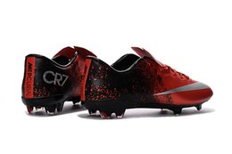 Wholesale Mens Mercurial Superfly CR7 Football Shoes High Quality Soccers Boots