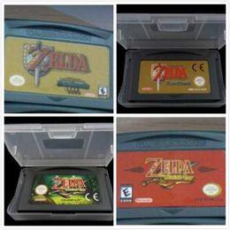 Brand New 100% enregistrer le fichier Etats-Unis Version EU Jeux vidéo Legend of Zelda: The Minish Cap Un lien vers les quatre dernières épées à partir de jeux vidéo usa fournisseurs