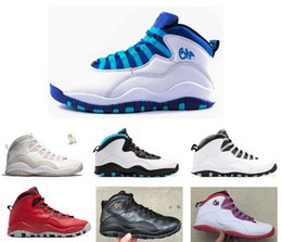 Wholesale 2016 air retro NYC charlotte Hornets blue City Pack CHI Chicago Flag Steel Grey powder Blue Seattle Ice Blue mans basketball shoes
