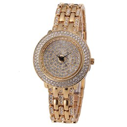 Wholesale New Arrival Fashion Bling Crystal Stainless Steel Analog Quartz Miss fox Luxury Rhinestone Watcn ecessity for women makes you feel noble and