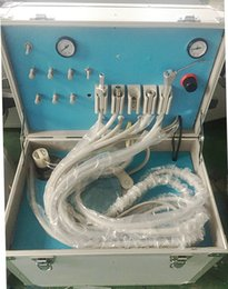 Wholesale easy Portable Dental turbine unit with Air Compressor dental equipment