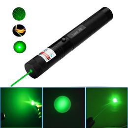 Wholesale high power Green laser pointers nm focusable can burn match burn cigarettes laser light Pop Ballon Astronomy Lazer Pointers Pens