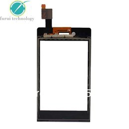 Wholesale 5 For Sony Mesona Xperia Miro ST23 ST23i Touch Panel Screen Digitizer Replacement Parts