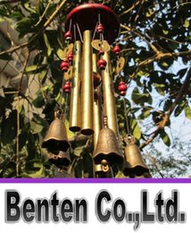 Wholesale New Amazing Tubes Bells Copper Yard Garden Outdoor Living Wind Chimes LLFA35
