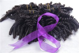 Wholesale Brazilian curly virgin hair afro kinky curly bundles A kinky curly virgin hair cheap brazilian virgin hair best human hair