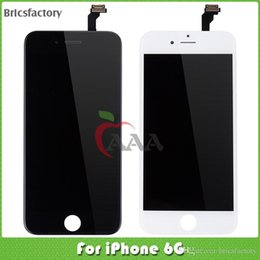 Wholesale china mobile phone LCD For iphone P display touch screen with good services and White and Black color