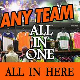 Wholesale 2016 Soccer Jerseys Any Team all in one AC Milan camisetas de futbol Football Shirts Man shirts kids woman jacket sweater training suits