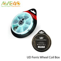 UD Wheel Coil UD Ferris wheel coil box Quad Dual Twiested Clatpton Coil